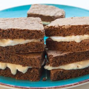 Low carb a keto Kinder mléčný řez bez cukru