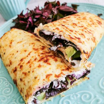 Low carb a keto zelné tortily